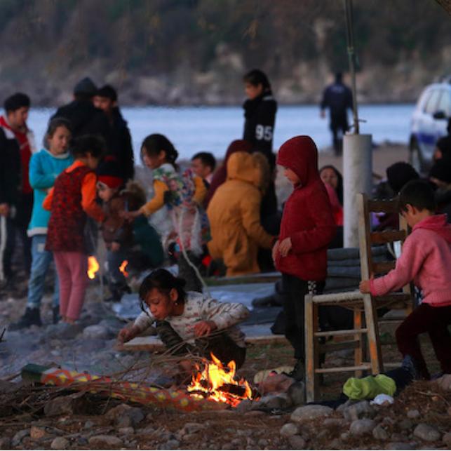 Migranti respinti in Grecia - Isola di Lesbo